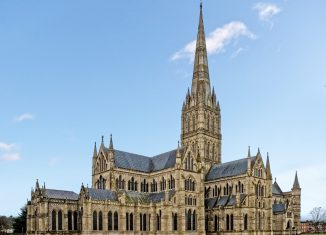 Salisbury Cathedral. Credit: Creative Commons
