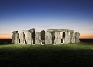 Stonehenge is one of the wonders of the South West. Credit: English Heritage Photo Library