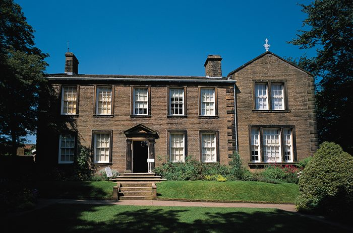 Bronte Parsonage, Haworth, West Yorkshire, England. Credit: Visit Britain