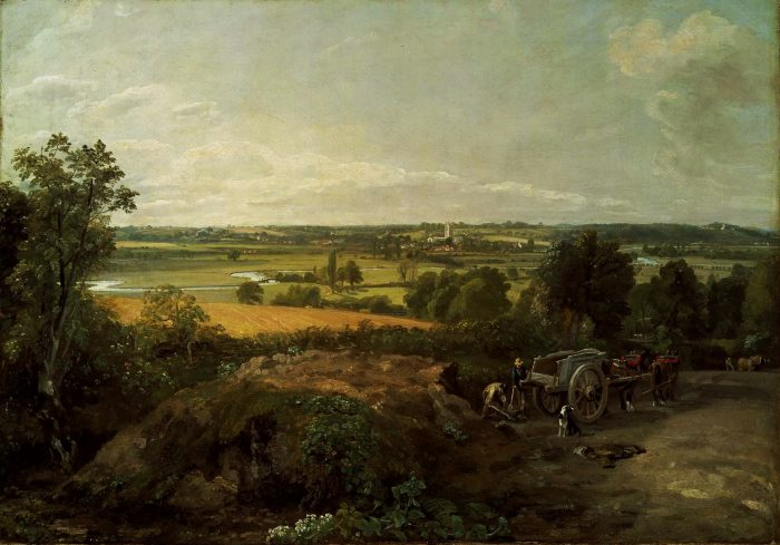 John Constable: Stour Valley and Dedham Church. Credit: Creative Commons