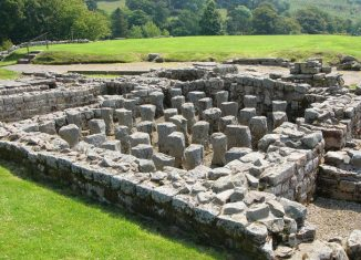 Vindolanda Roman Fort. Credit: Creative Commons
