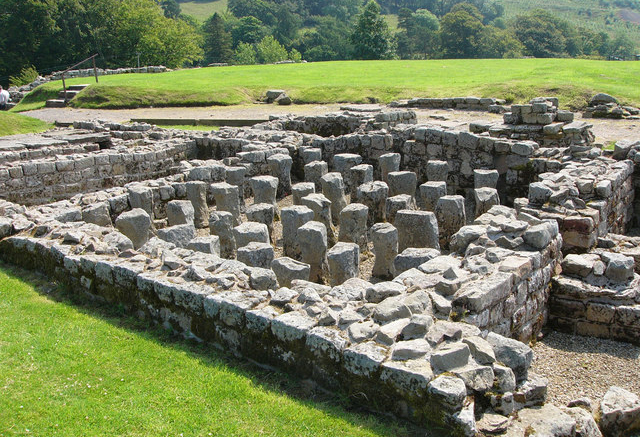 Vindolanda Roman Fort. Credit: Creative Commons
