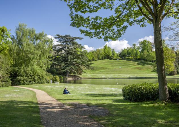 Landscape Garden Surrey : Claremont landscape garden discover britain