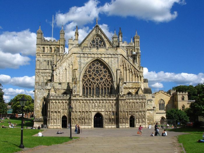 History of Exeter. Credit: Creative Commons