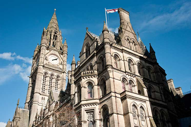 Manchester Town Hall, manchester