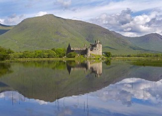 Kilchurn, Scotland, romantic