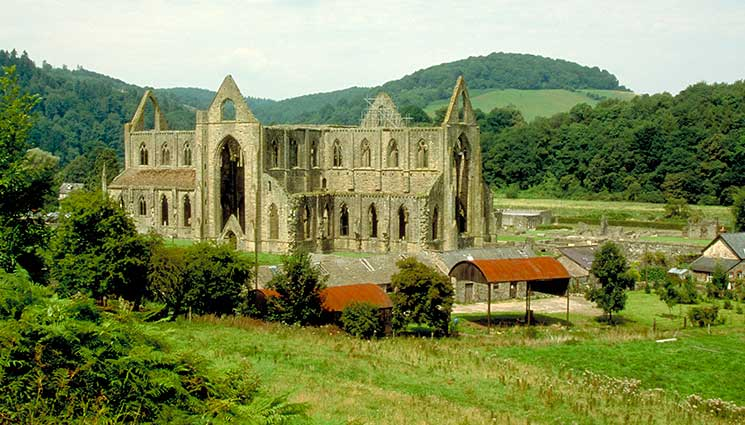 Tintern Abbey, romantic, wales