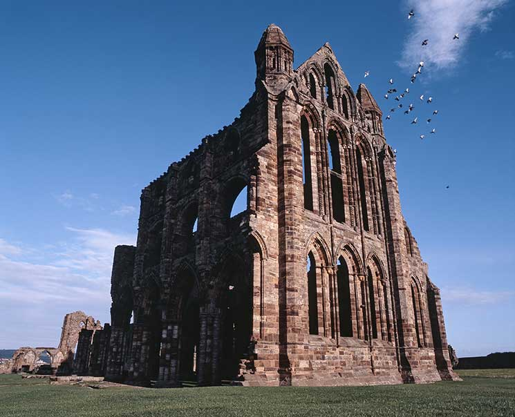 Whitby Abbey, Yorkshire, Romantic
