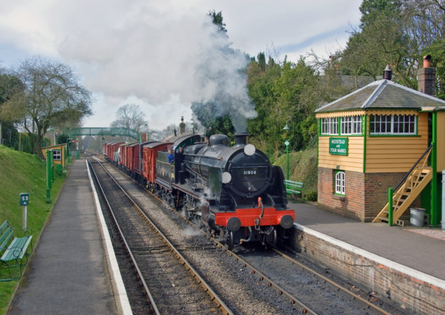 The Watercress Line (C) David Warwick Medstead