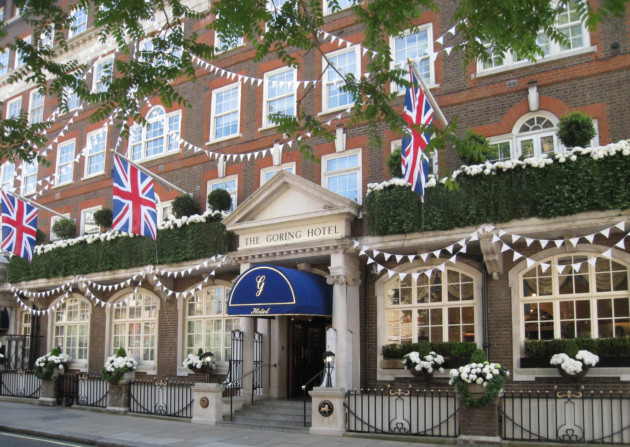 The Goring Hotel. ©Richard Booth