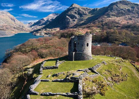 Dolbadarn<br />  Castle, near Llanberis