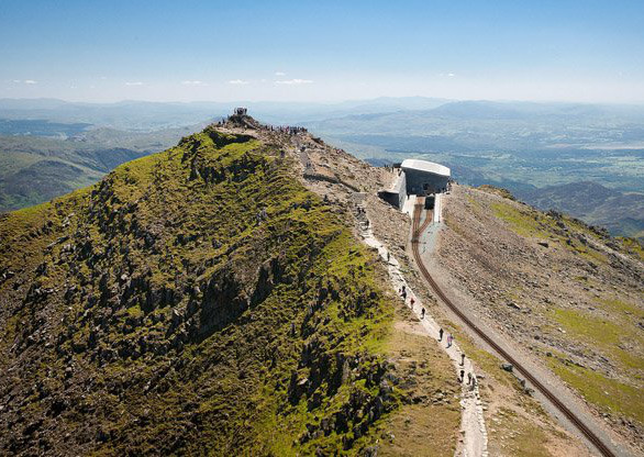 Hafod Eryri Visitors Centre,<br /> summit of Snowdon