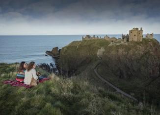 Dunnottar Castle, Aberdeenshire. Credit: VisitBritain