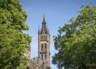 Glasgow University, Scotland. Credit: Visit Britain