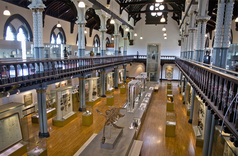 Hunterian Museum, Glasgow, Scotland. Credit: Visit Britain