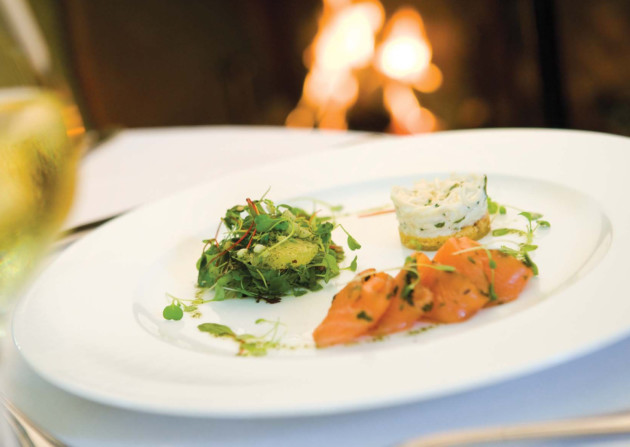 What else is on the menu at Doxford Hall...? Photo: Visit Northumberland