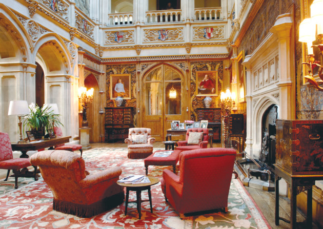 Highclere Castle Saloon