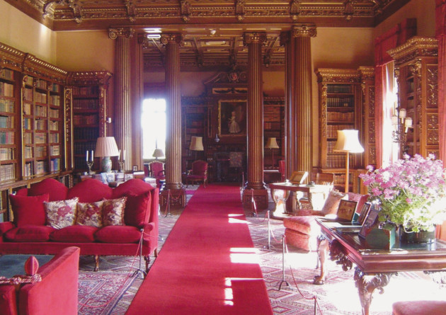 Highclere Castle, Library