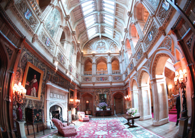 Highclere Castle, Saloon