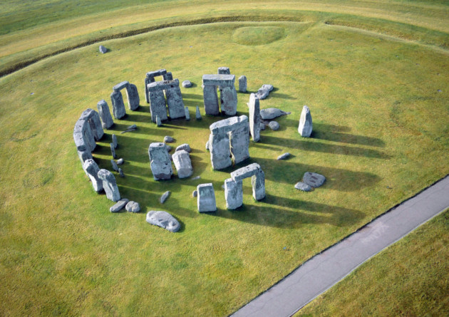 Stonehenge aerial. © English Heritage