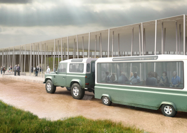 Stonehenge visitor shuttle. © English Heritage