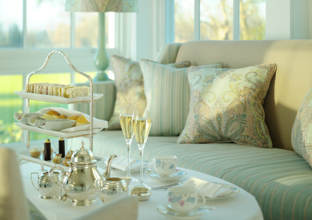 Champagne and Afternoon Tea at Coworth House
