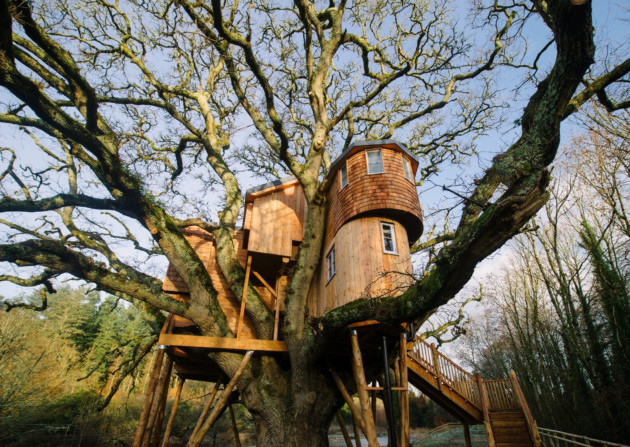 Treetops Treehouse, Devon