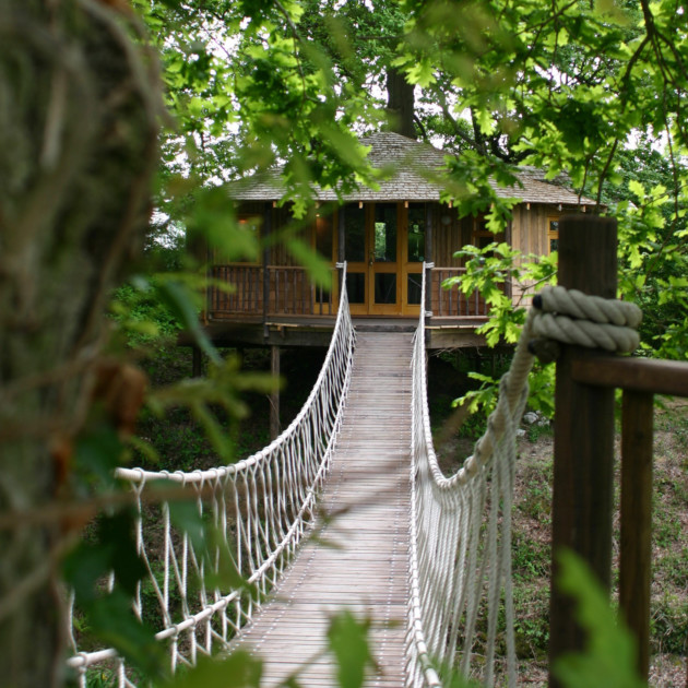 Bensfield Tree House, East Sussex