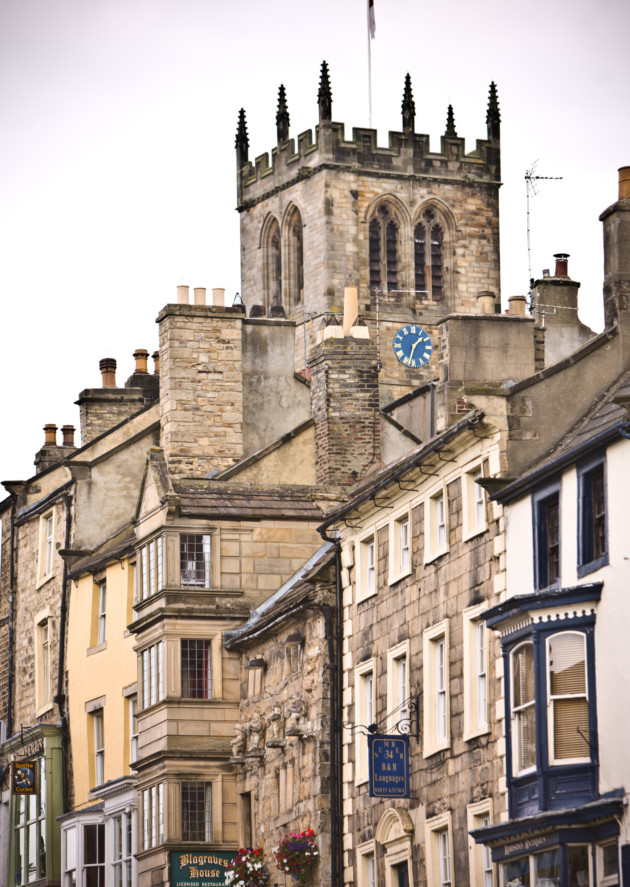 The historic market town of Barnard Castle. Photo: Chris Auld Photoshoot / Visit County Durham