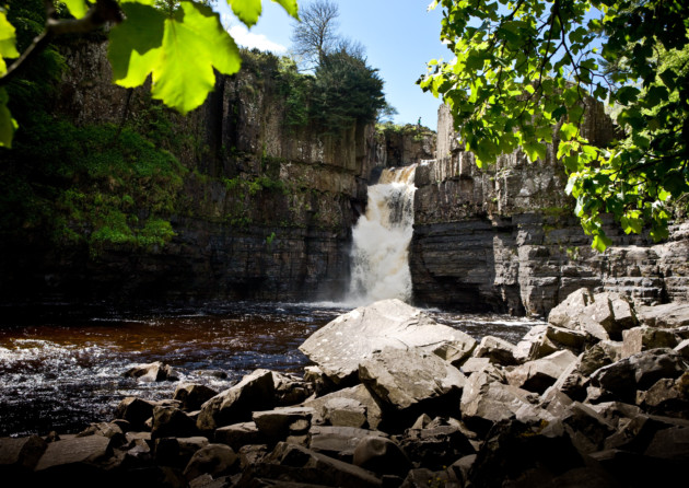 High Force Waterfall, Forest-in-Teesdale. Photo: Chris Auld /  Visit County Durham