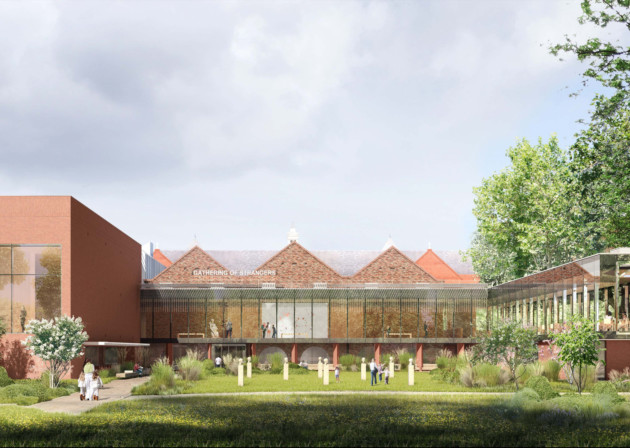 The Whitworth Redevelopment. Artist's Impression of Exterior View