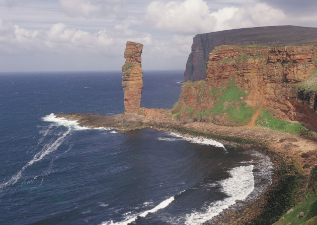 Old Man of Hoy, Orkney.<br /> © P.TOMKINS/VisitScotland/SCOTTISH VIEWPOINT
