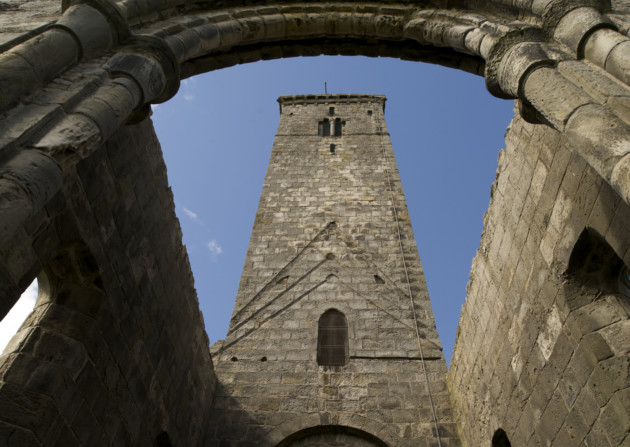 The ruins of St Andrews Cathedral. Credit: Historic Scotland