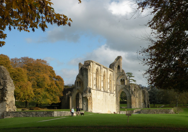 Glastonbury Abbey. Credit: English Heritage