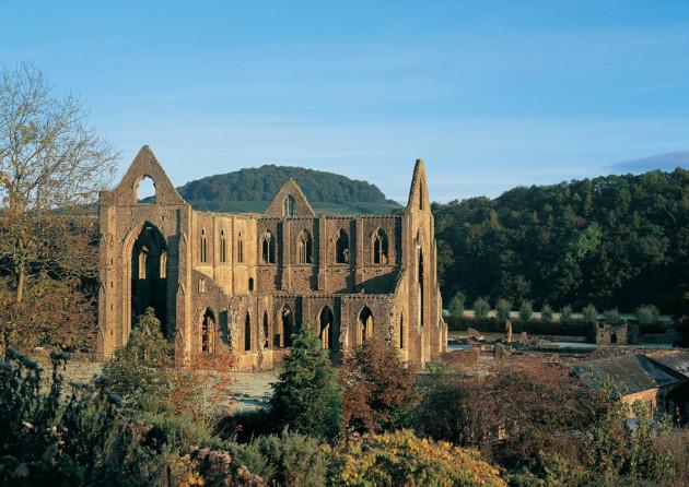 Tintern Abbey, Wales, Wordsworth