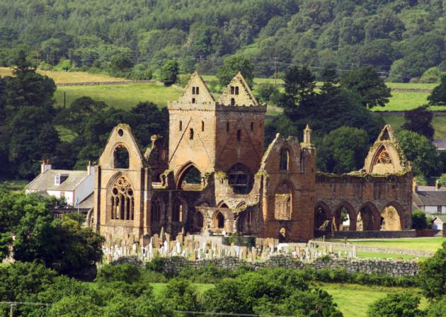 Sweetheart Abbey. Credit: Historic Scotland/Michael Brooks