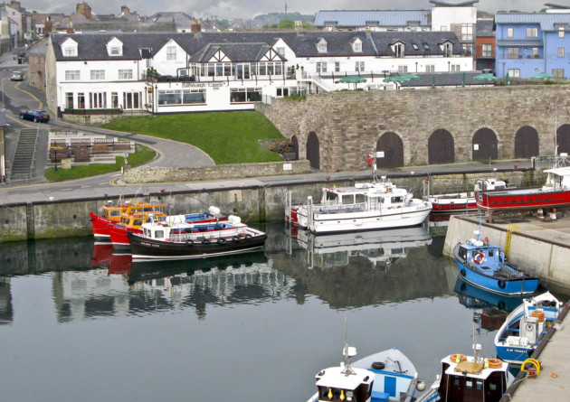 Seahouses harbour (and The Bamburgh Castle Inn) Photo: Impact PR