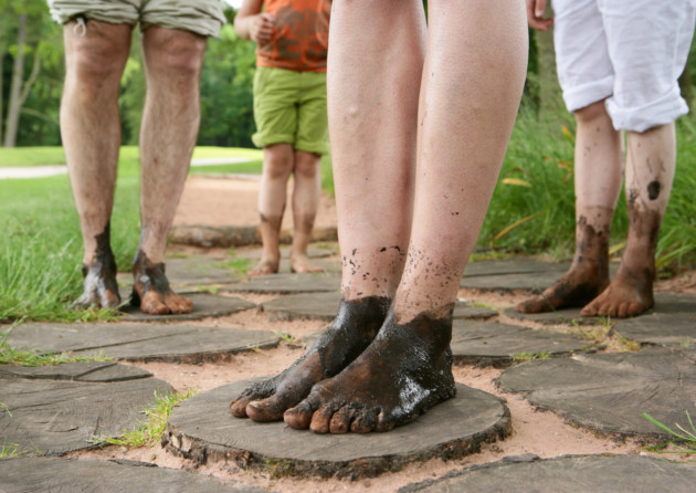 Dare to bare your tootsies on Trentham's Barefoot Walk