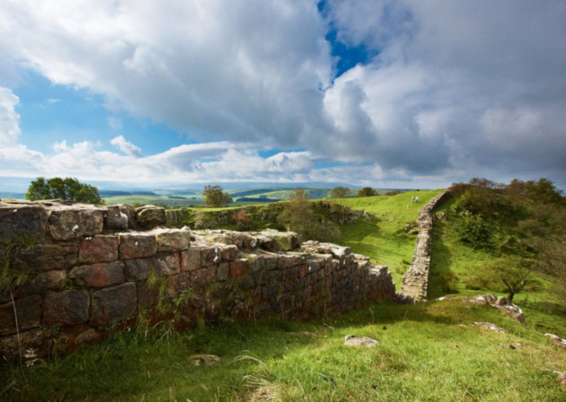 Hadrian's Wall. English Heritage/Robert Smith