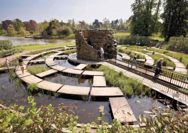 The Water Maze, Hever Castle, Kent