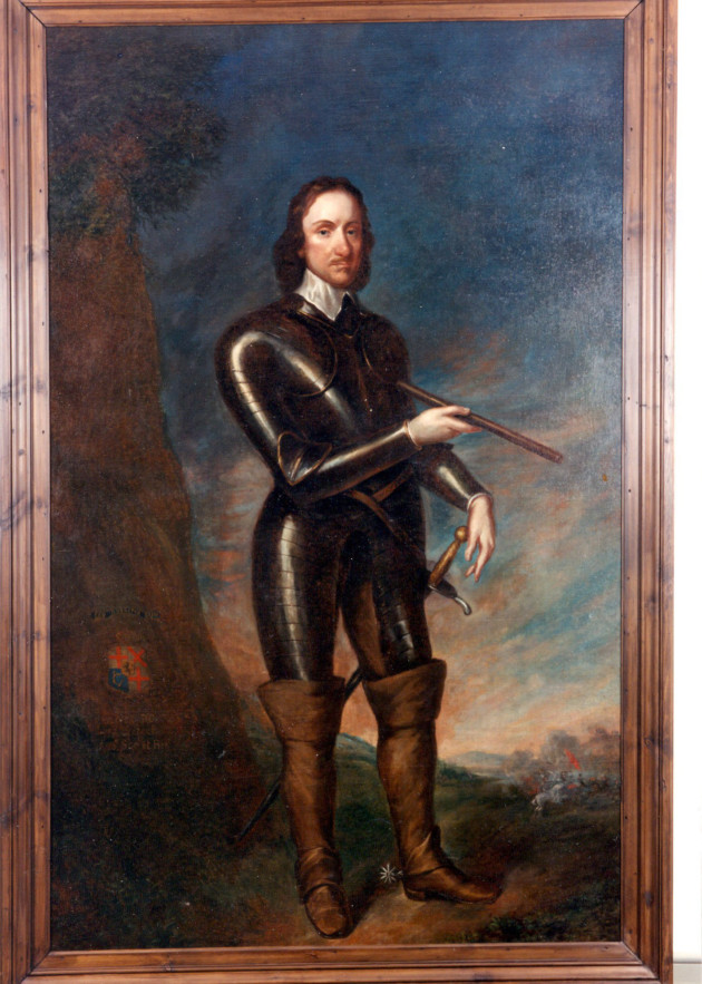 Oliver Cromwell portrait. Photo: Visit Ely