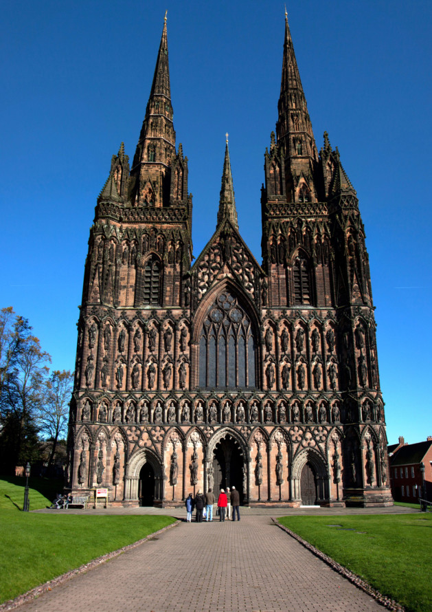 Explore the cathedral city of Lichfield - Discover Britain