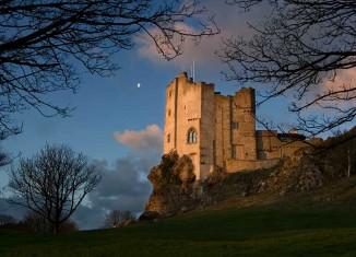 Roch Castle, Pembrokeshire, hotel