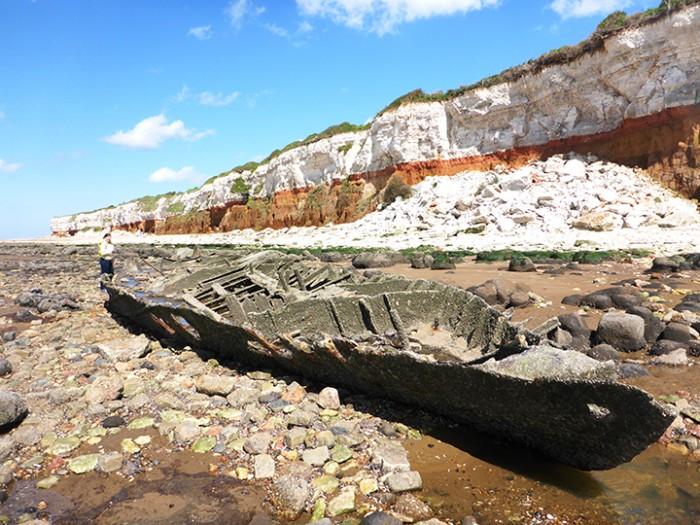 coast, archeology, trawler,