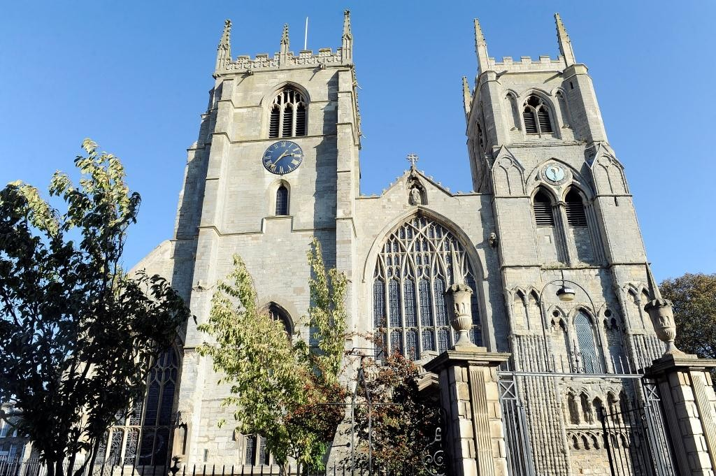 King's Lynn Minster was originally built by the Normans