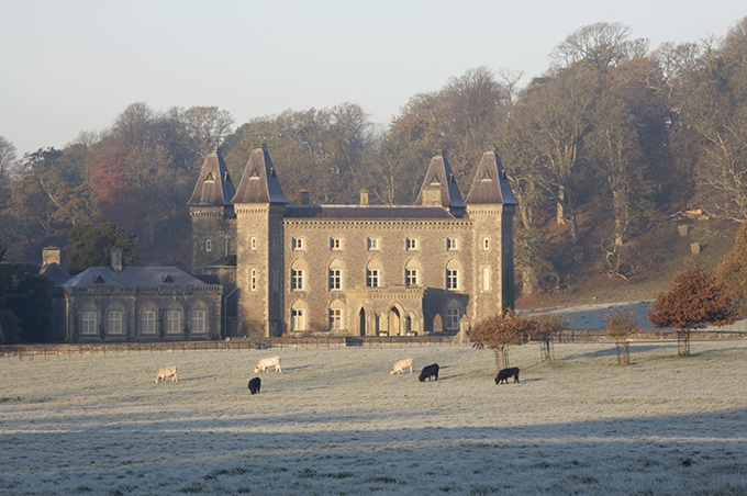 Newton House is situated in a beautiful 18th century landscape park. Credit: National Trust Images/John Hammond
