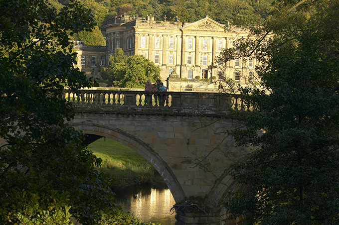 Chatsworth House is said to have inspired Pemberley. Credit: VisitBritain/Visit Peaks