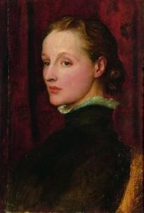 G F Watts. Mrs G F Watts. 1887. Oil on canvas. Watts Gallery