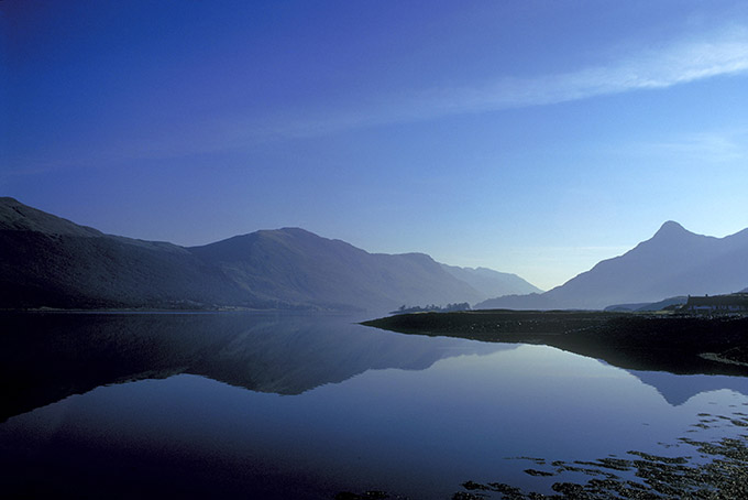 toward Glencoe, loch Leven, Highland, Scotland.