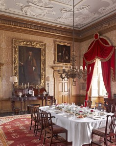 The Speakers' Parlour at Clandon Park, Surrey.